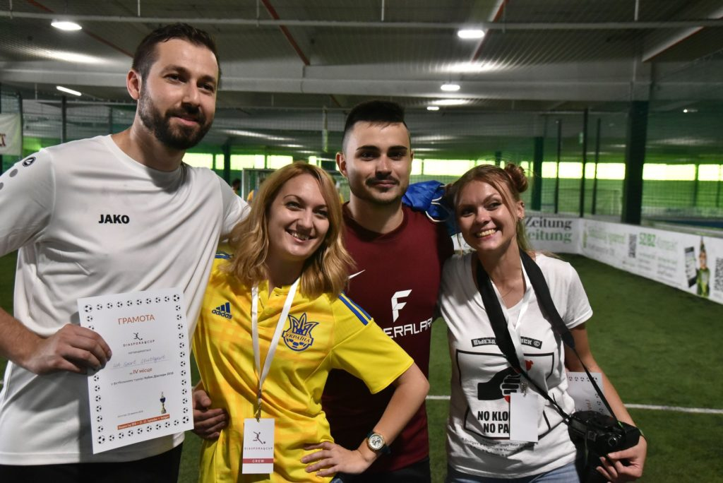 Diaspora Cup Stuttgart - Orga Team